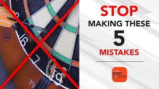 5 MOST COMMON MISTAKES MADE BY DARTS PLAYERS! 🎯🚫