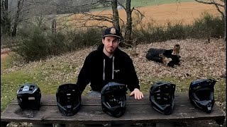 3 tourentaugliche atmungsaktive Fullface Helme (2021) kurz vorgestellt und 1 Open Face Helm
