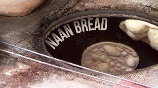 preview picture of video 'Naan Bread in Tandoor Oven - Indian Street Food Old Delhi'