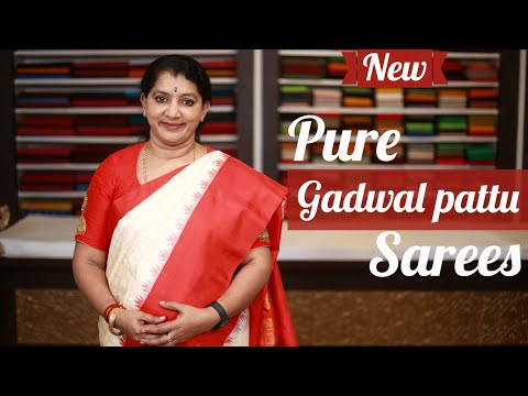 """<p style=""""color: red"""">Video : </p>NEW GADWAL PATTU SAREES COLLECTIONS"""