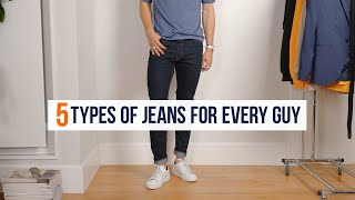 5 Essential Denim Jeans For Guys | Affordable Men's Fashion