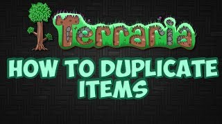 how to duplicate items in terraria xbox one multiplayer
