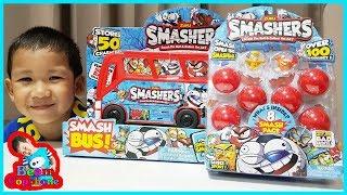 น้องบีม   รีวิวของเล่น EP102   สแมชเชอร์ ลูกบอลเซอร์ไพรส์ Toys
