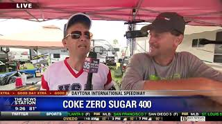 David Does It: Coke Zero Sugar 400