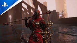 PlayStation Mortal Shell: Enhanced Edition - Official Reveal Trailer   PS5 anuncio