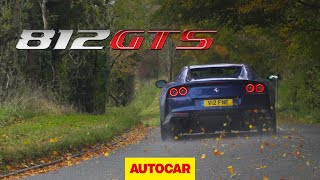 [Autocar] New Ferrari 812 GTS review | Is 2020 Superfast convertible super and fast?