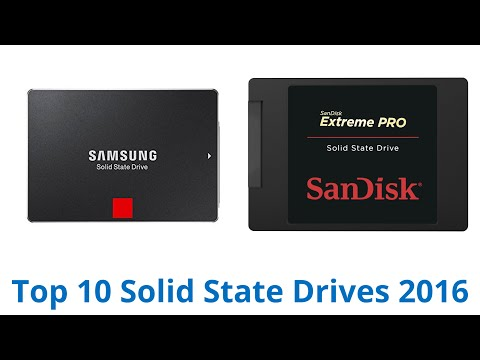 10 Best Solid State Drives 2016