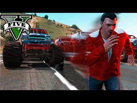 GTA V Online - LOS MONSTERS ASESINOS XDD - partida con subs - NexxuzHD