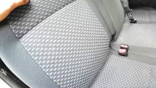 Как изменить наклон спинок сидений среднего ряда LADA Largus