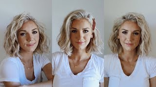 3 Ways To Curl SHORT Hair