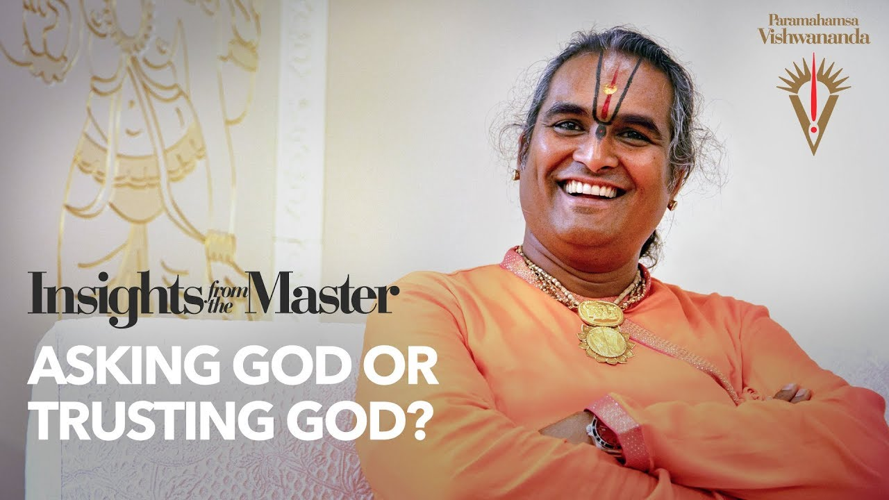 Asking God or Trusting God? | Insights from the Master