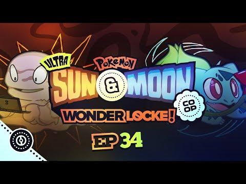 ZEKROM... I MEAN NECROZMA! | Pokemon Ultra Sun and Moon Wonderlocke Co Op Episode 34