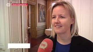Katja Gabriëls legt eed af in handen van waarnemend gouverneur
