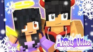 Snow Cuddles!   Angelsville Minecraft Survival [Ep.12]