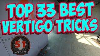 Top 33 BEST VERTIGO TRICKS | CSGO
