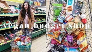 £12 VEGAN WEEKLY BUDGET GROCERY SHOP AT ALDI 💰