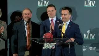 Tampa prepares for Super Bowl next year in 2021