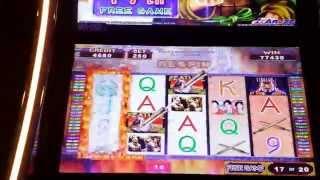 Legend of the qin dynasty--huge bonus win