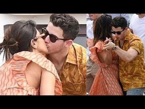 Priyanka Chopra Nick Jonas KISS , Dance In Paris   Joe Jonas and Sophie Turner Marriage