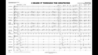 I Heard It Through the Grapevine arranged by John Higgins
