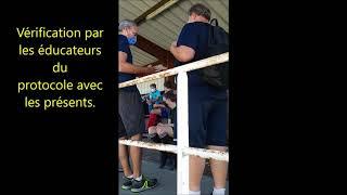 Exemples de protocole sanitaire pour des séances de football