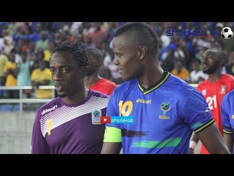 LIBYA VS TAIFA STARS Kinachondela  Karume Tff big screen