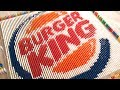 FAST FOOD LOGOS MADE FROM 25,000 DOMINOES | Satisfying Domino Screen Link