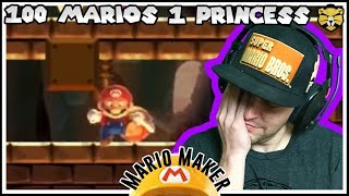 Call The Dump To Haul Away This HOT Garbage! Super Mario Maker 100 Man Super Expert
