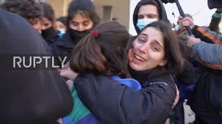 Grecja: Działacze studenccy uwolnieni, a tysiące osób zgromadziło się przed sądem w Salonikach