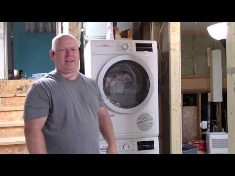 BOSCH 500 Series Washer & Ductless Dryer Review