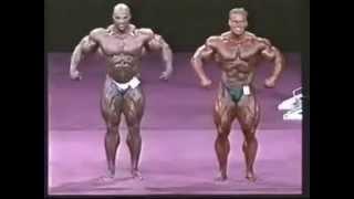 Джей Катлер против Ронни  Коулмэна, Олимпия 2001 год