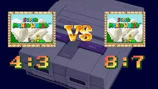 Super Nintendo Aspect Ratio
