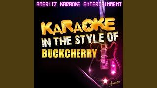 Sorry (In the Style of Buckcherry) (Karaoke Version)