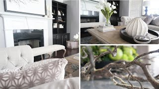 HOME DECOR HAUL| HOW TO STYLE | NEW BUYS + MINI SPRING ROOM TOUR Ft OVERSTOCK