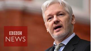 Why has Julian Assange been holed up? BBC News