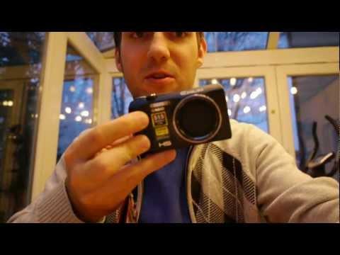 Casio Exilim ZR-400 Camera Unboxing