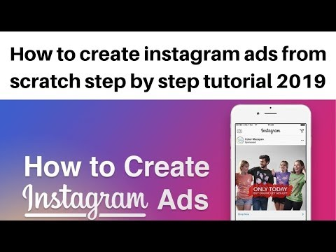 How to create instagram ads from scratch step by step tutorial 2019
