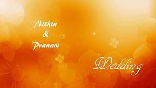 Nithin  Pranavi Wedding