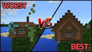BEST VS WORST - Minecraft House Battle /w ibxtoycat