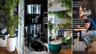 مشروع تصميم الكوفي شوب تبعي خلص ! - My COFFEE SHOP Design Project Is COMPLETED!!
