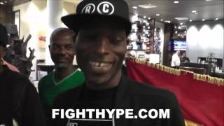 RICHARD COMMEY SHARES FINAL WORDS FOR ROBERT EASTER JR.; FANS CHANT AND SING AFTER WEIGH-IN