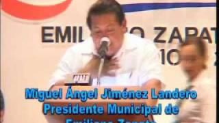 preview picture of video '1er Informe Municipal Emiliano Zapara 2010 Miguel A Jimenez Landero 1 de 6.wmv'