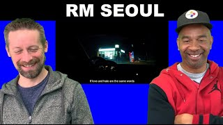 RM reaction SEOUL (prod. HONNE)