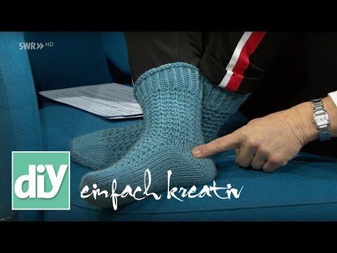 Dicke Socken stricken | DIY einfach kreativ
