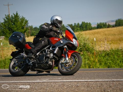 2014 Aprilia Mana 850 GT - Sport-Touring Shootout Part 1