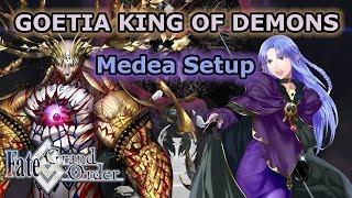 Medea  - (Fate/Grand Order) - Goetia King of Demons Medea Setup - Solomon [FGO NA]