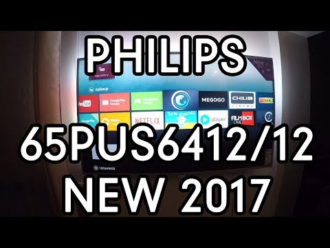 PHILIPS 65PUS6412/12 UNBOXING NEW 2017 SERIE
