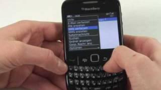 BlackBerry Curve 8520 Test Bedienung