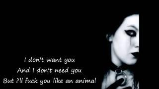 Terminal Choice - Animal (Hocico Remix) *Lyrics on Screen*