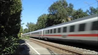 preview picture of video 'Szybki miks - niemieckie składy ICE oraz IC / Fast trains mix - German ICE & IC trains'
